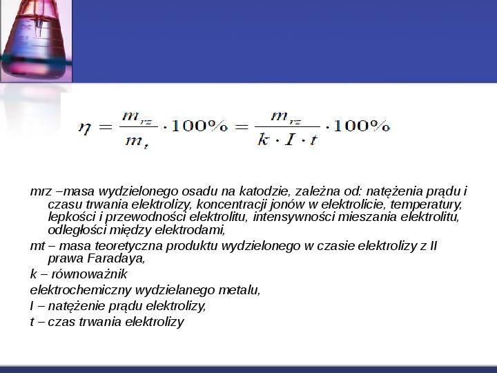 Zastosowanie elektrolizy - Slajd 5