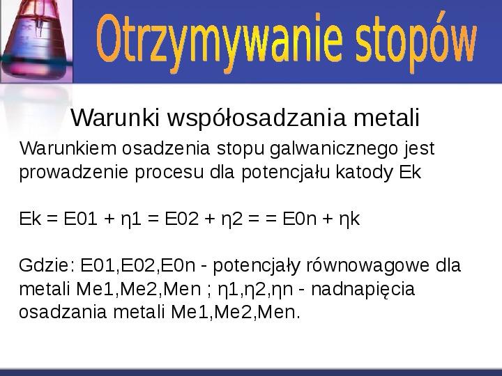 Zastosowanie elektrolizy - Slajd 12