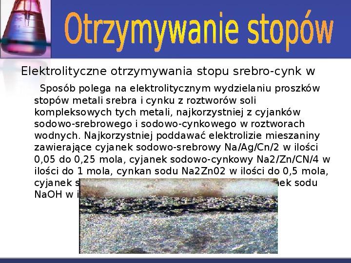 Zastosowanie elektrolizy - Slajd 15