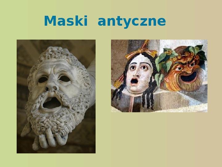 Starożytność, kultury, teatr - Slajd 12