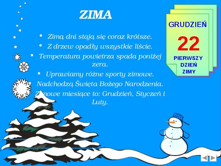 Zima - Slajd 2