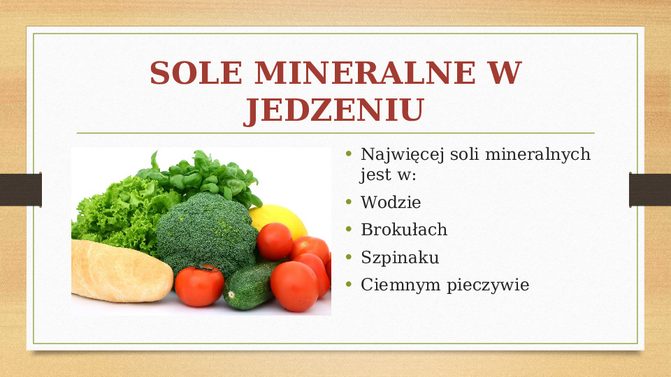Sole mineralne - Slajd 6