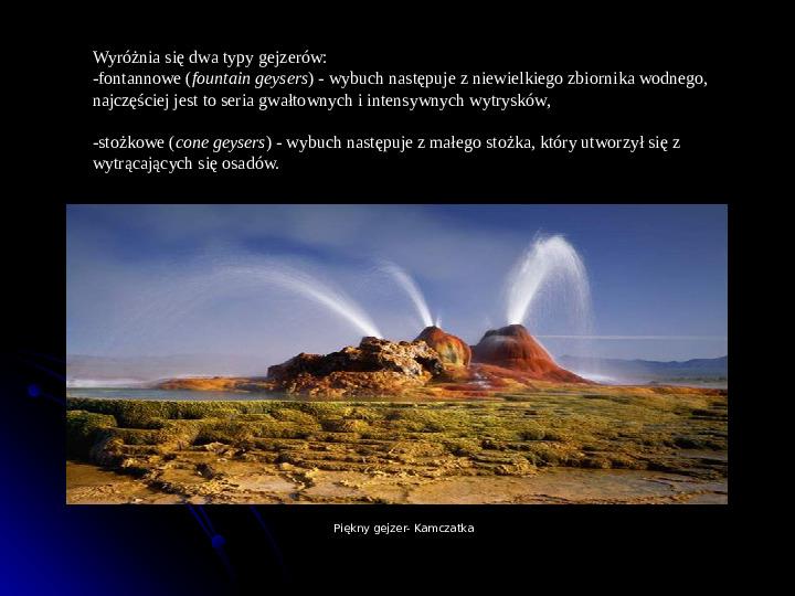 Kaprysy atmosfery, nieokiełzane wody, niespokojna planeta - Slajd 24