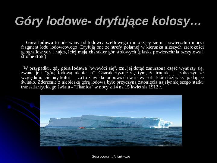 Kaprysy atmosfery, nieokiełzane wody, niespokojna planeta - Slajd 25
