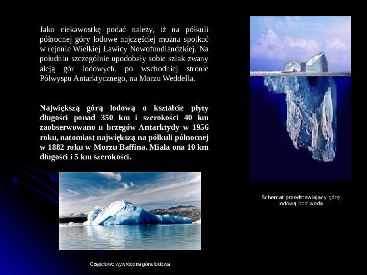 Kaprysy atmosfery, nieokiełzane wody, niespokojna planeta - Slajd 26