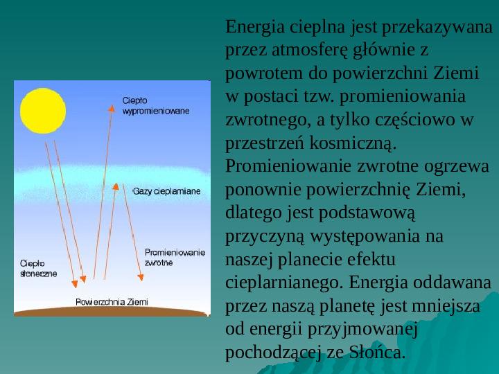 Efekt cieplarniany - Slajd 4
