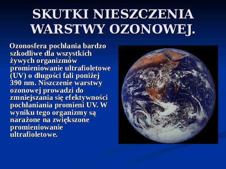 Efekt cieplarniany - Slajd 14