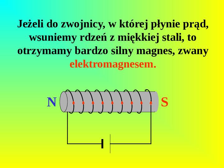 Oddziaływania elektromagnetyczne - Slajd 10