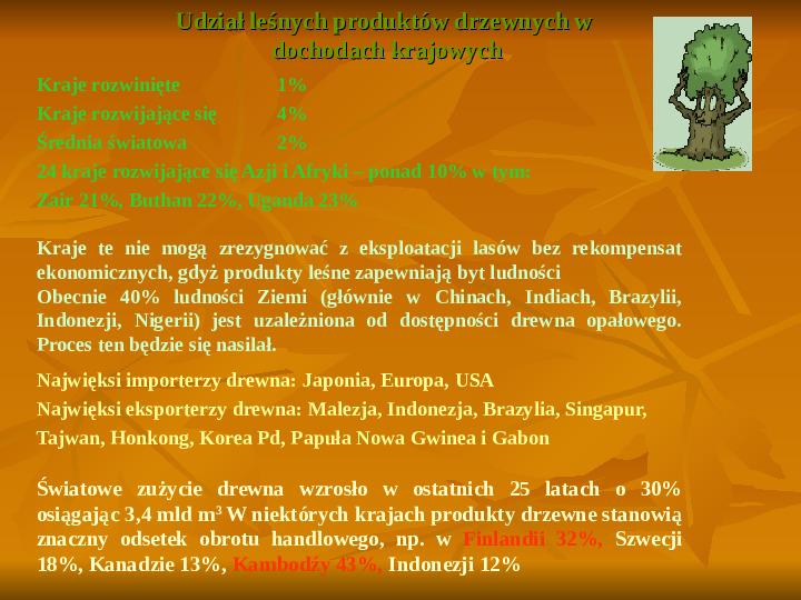 Degradacja gleb i lasów - Slajd 10