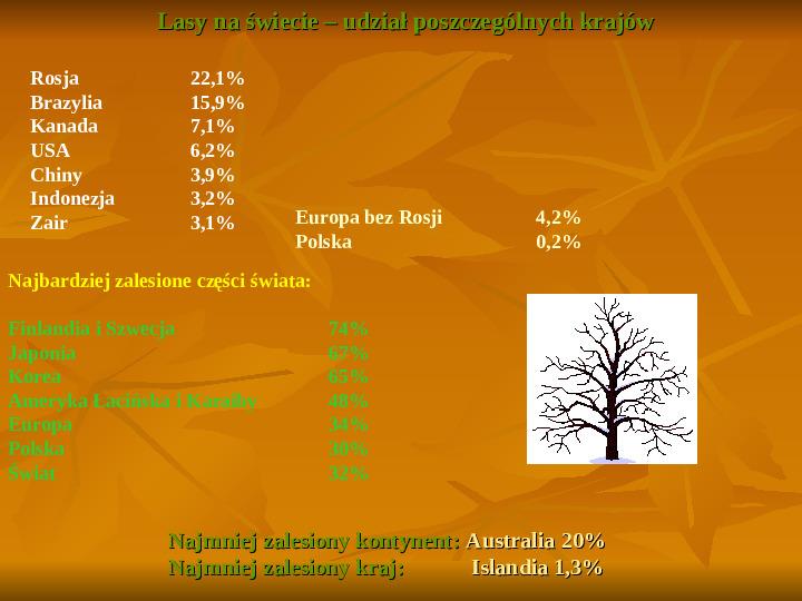 Degradacja gleb i lasów - Slajd 11