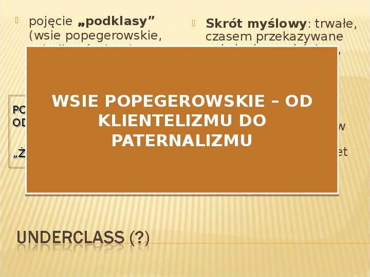 Polska biedy, marginalizacja - Slajd 17