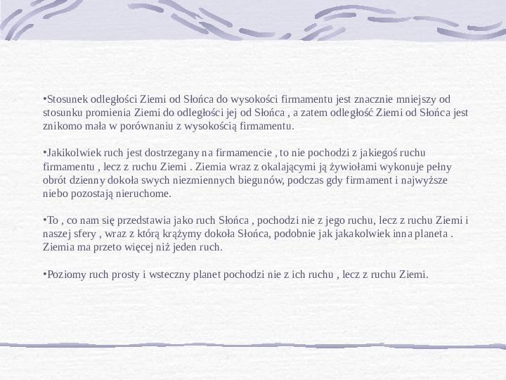 Mikołaj Kopernik - Slajd 4