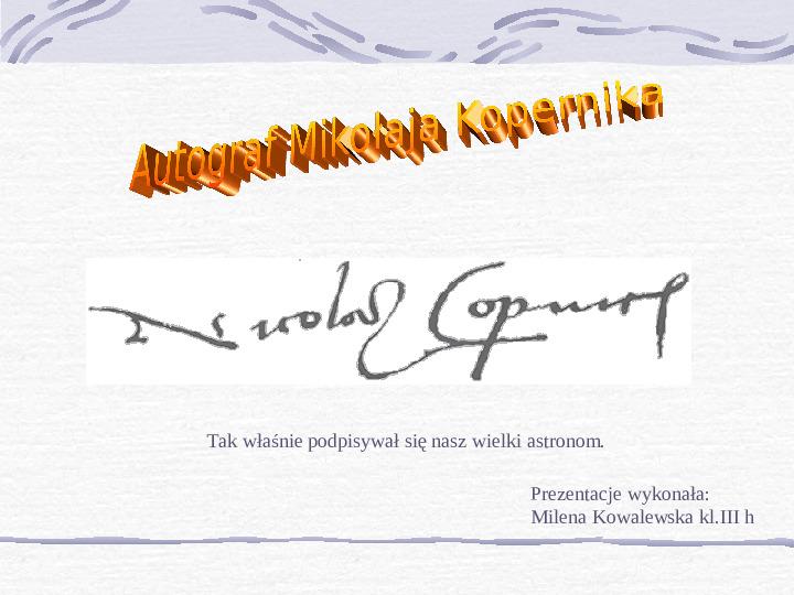 Mikołaj Kopernik - Slajd 18