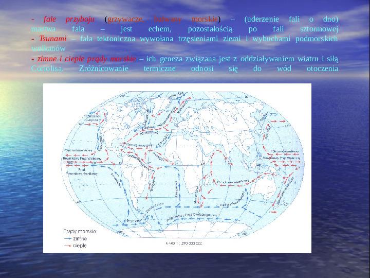 Morza i oceany - Slajd 8