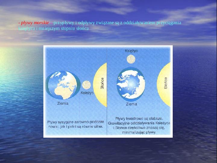 Morza i oceany - Slajd 11