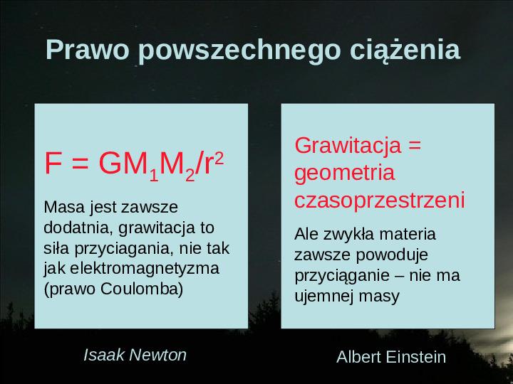 Na przekór grawitacji - Slajd 2