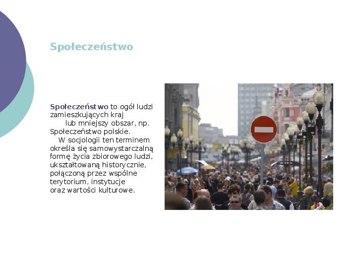 Społeczeństwo - Slajd 24