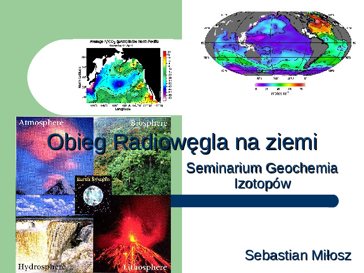 Obieg radiowęgla na ziemi - Slajd 1