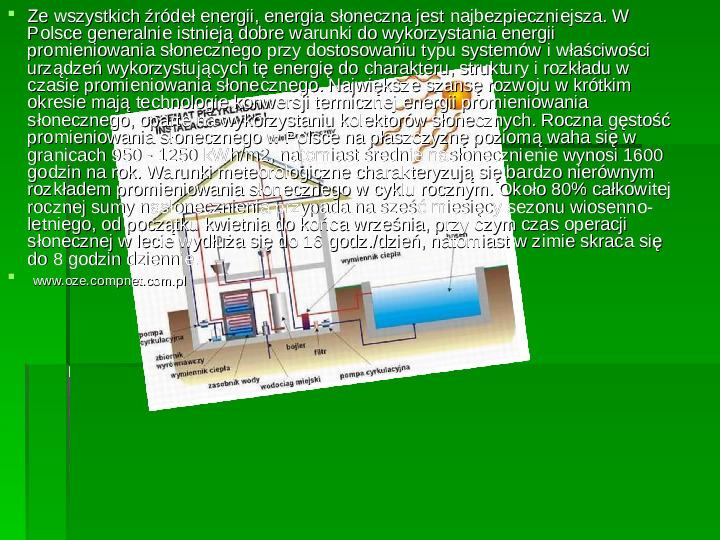 Odnawialne źródła energii - Slajd 16