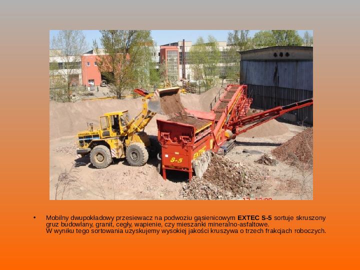 Odpady budowlane - Slajd 10
