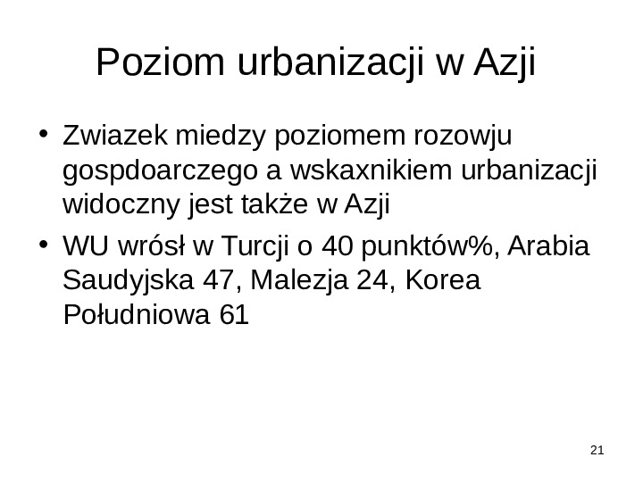 Osadnictwo - Slajd 20