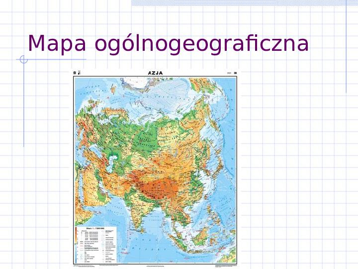 Poznaj rodzaje map - Slajd 5