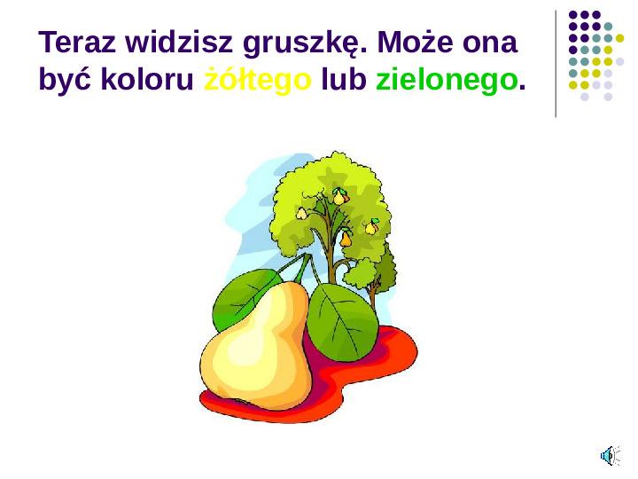 Poznajemy owoce - Slajd 4