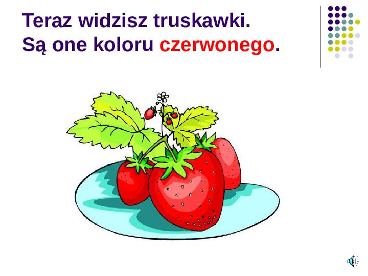 Poznajemy owoce - Slajd 6