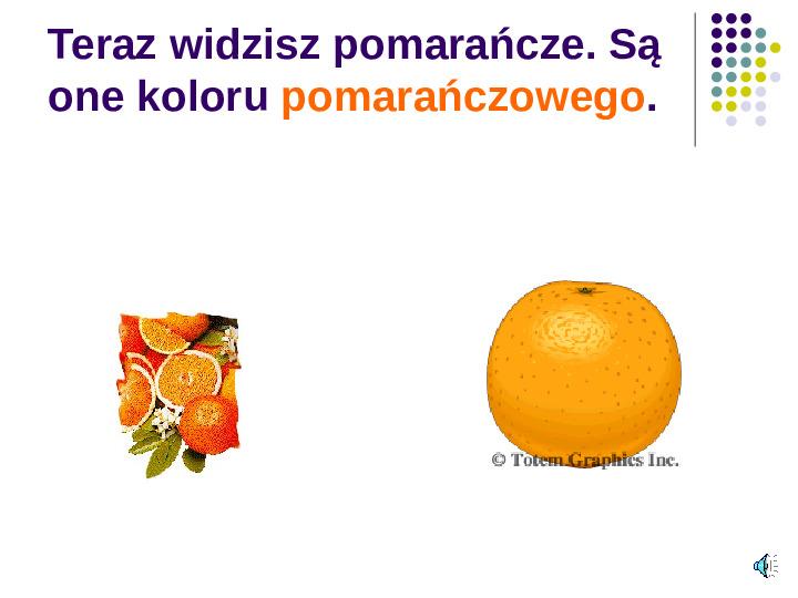Poznajemy owoce - Slajd 12
