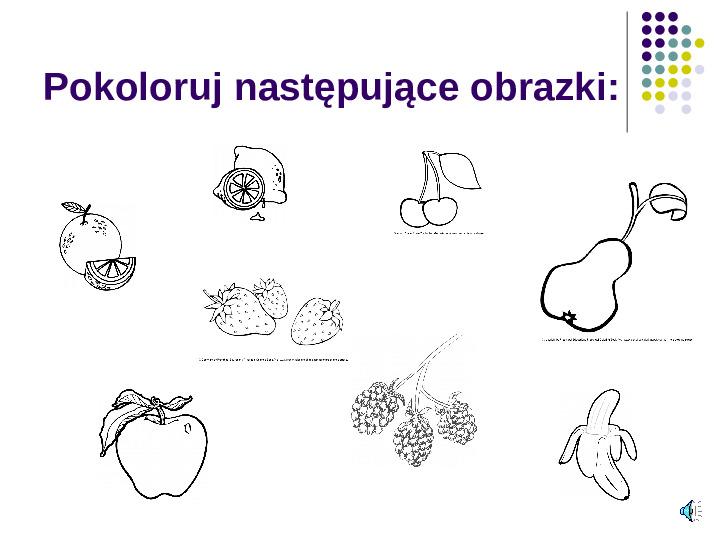 Poznajemy owoce - Slajd 17