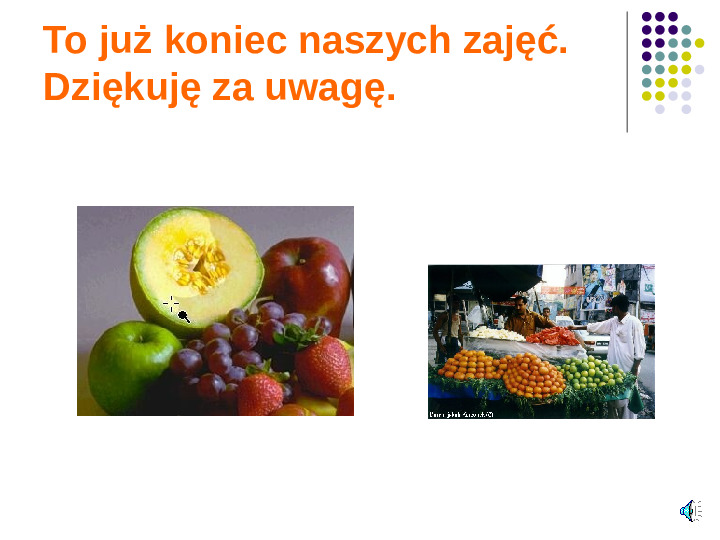 Poznajemy owoce - Slajd 20