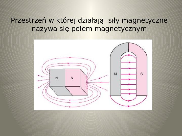 Poznajemy zjawisko magnetyzmu - Slajd 10