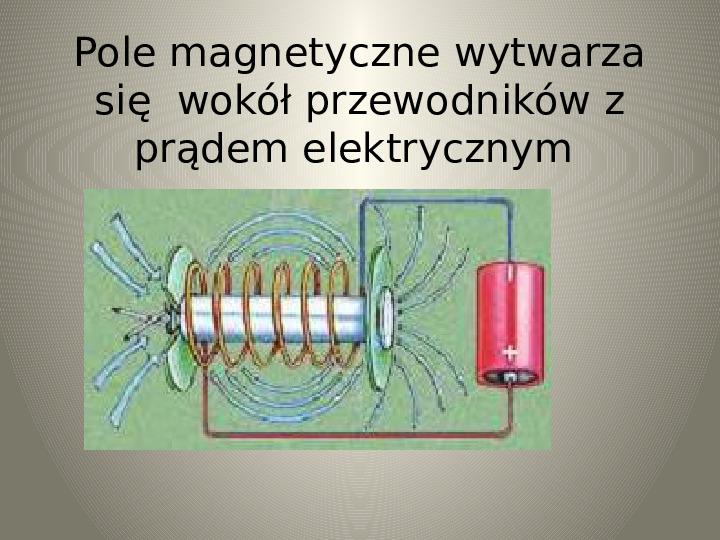 Poznajemy zjawisko magnetyzmu - Slajd 13