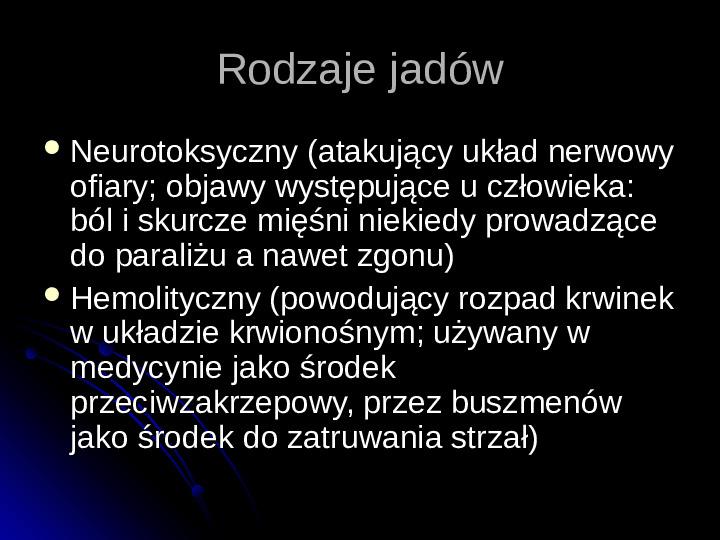 Pajęczaki - Slajd 15