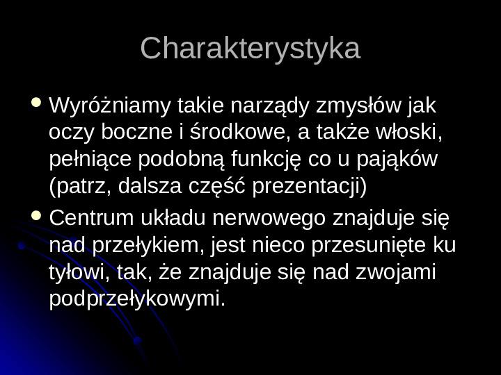 Pajęczaki - Slajd 17
