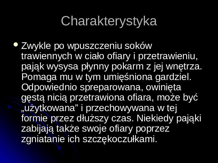 Pajęczaki - Slajd 32