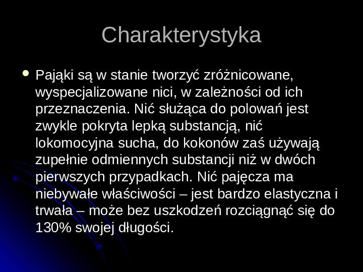 Pajęczaki - Slajd 34