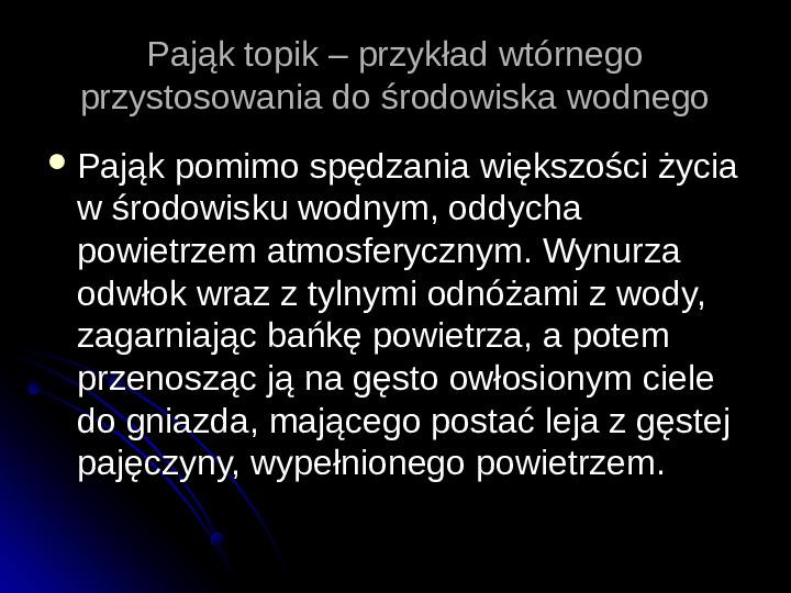Pajęczaki - Slajd 64