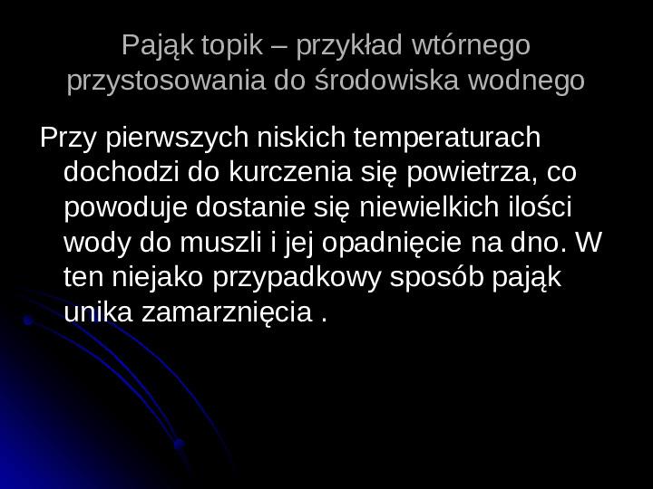 Pajęczaki - Slajd 67