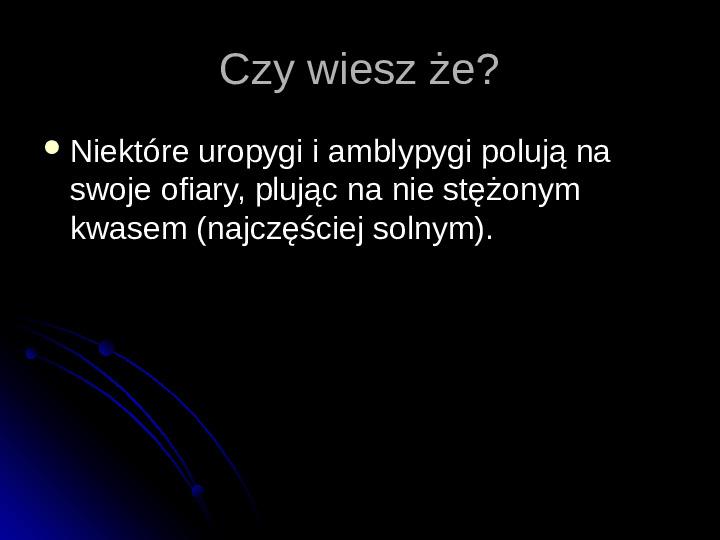 Pajęczaki - Slajd 77