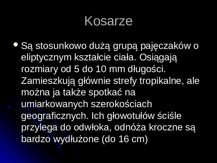 Pajęczaki - Slajd 81