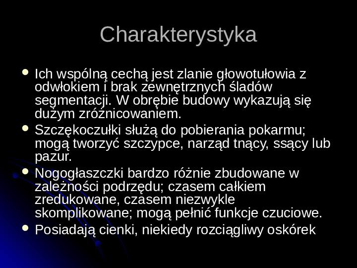 Pajęczaki - Slajd 88