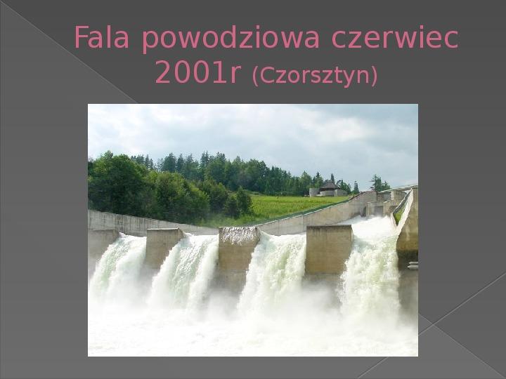 Energetyka wodna - Slajd 26