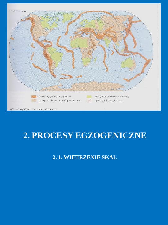 Procesy endogeniczne i egzogeniczne - Slajd 7