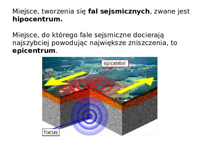 Procesy modelujące powierzchnię Ziemi - Slajd 11