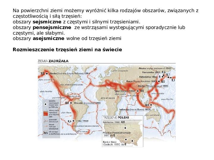 Procesy modelujące powierzchnię Ziemi - Slajd 17