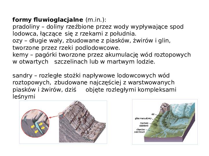 Procesy modelujące powierzchnię Ziemi - Slajd 34