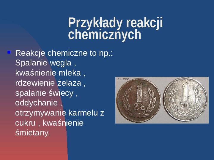 Przemiany fizyczne i chemiczne - Slajd 5