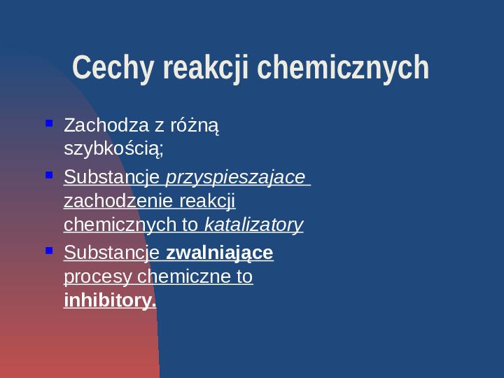 Przemiany fizyczne i chemiczne - Slajd 6