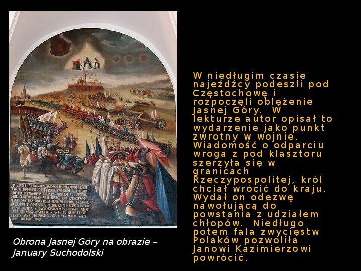 """""""Potop"""" Henryk Sienkiewicz - Slajd 4"""